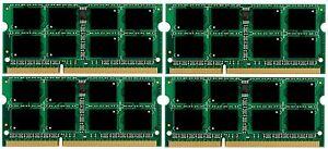 NEW! 32GB 4x8GB DDR3-1333 PC3-10600 204 PIN SODIMM Memory Dell Alienware M17X R3