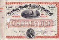 Northern Pacific Railroad Company  1886