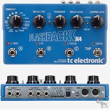 TC Electronic Flashback X4 Flash Back Stereo Echo/Delay Looper Guitar Pedal