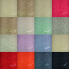 TODD & DUNCAN SOFT CASHMERE COTTON YARN 200g CONE FINE LACE WEIGHT COBWEB 1 PLY