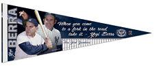 Rare YOGI BERRA New York Yankees Legend Premium Memorial Felt PENNANT