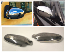 LTI TAXI TX4 COMPLETE FULL SET OF STICK ON CHROME MIRROR COVERS STICK ON