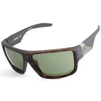 Dragon Deadlock Matte Tortoise/Green G15 Men's Rectangular Sports Sunglasses