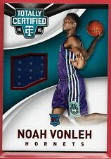Noah Vonleh Sn 141/249 RC Patch 2014-15 Certified #84 Portland Trailblazers
