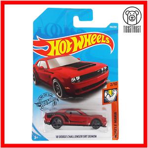 Dodge Challenger SRT Demon 18 Muscle Mania 2/10 194/250 by Hot Wheels Mattel