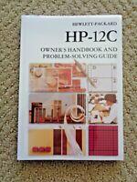 Hewlett Packard HP-12C Calculator Owner's Handbook And Problem Solving Guide 12C