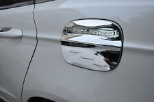 Chrome Oil Gas Cap Tank Cover Trim For 2013-2015 Ford Mondeo Fusion Gasoline