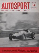 Autosport magazine 12/4/1957 featuring Morgan 4/4 road test