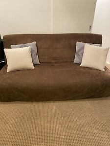 Large Comfortable Futon Lounge with cushions