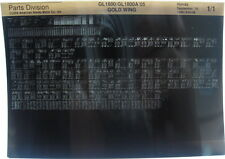 Honda GL1800 GoldWing 2005 Parts Microfiche h384