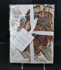 Williams Sonoma Plymouth Turkey New in Package Set 2 Kitchen Towels