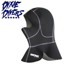 Sopras Sub Long Hood 5mm Neoprene wetsuit cold water Size Small Scuba Diving