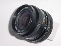 Canon FD Fit MIRANDA 24mm F/2.8 MC MACRO Wide Angle Manual Focus Lens * MINT
