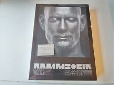 Rammstein Videos 1995-2012 (3 DVD + Book) NEW AND SEALED2012 UNIVERSAL