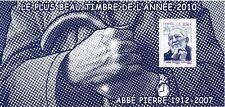 TIMBRE FRANCE BLOC SOUVENIR N° 66 ** ABBE PIERRE / COTE 12 €