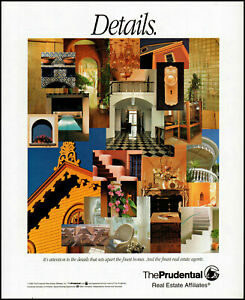 1993 The Prudential Real Estate Affiliates Details vintage photo Print Ad ads3