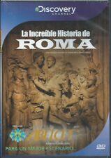 DISCOVERY LA INCREIBLE HISTORIA DE ROMA DVD NEW