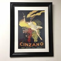 Cinzano 1920 Framed Poster Print by Leonetto Cappiello 22X28 inches With Frame