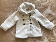 Beautiful Girls Next White Cream Ivory Fleece 12-18 Months