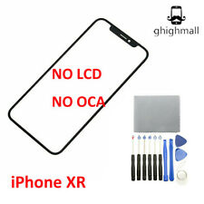 For Apple iPhone XR Replacement Front Outer Screen Glass Lens +Tools