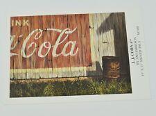 Coca-Cola Coca Cola USA collezione - mappa Cartolina Postale J.J.Mais 4th