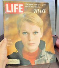 LIFE MAGAZINE: MIA FARROW  MAY 5TH 1967