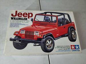 Tamiya 1/24 No.154 Jeep Wrangler Open Top