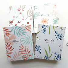"""Flower Posture"" 1pc Hard Cover Notebook Lock Box Diary Colored Paper Journal"