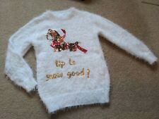 Age 7-8 Years Girls ⛄ Christmas Jumper VGC