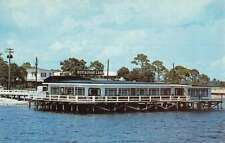 Panacea Florida Faivers Restaurant Waterfront Vintage Postcard K71274