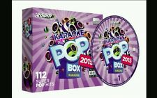 ZOOM KARAOKE  CDG   POP BOX HITS OF 2015      112 CHART HITS ON 6 DISCS    NEW