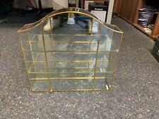 Swarovski Vitrine / Setzkasten Gold 43,5 cm. Zum Hängen oder Stellen. Top Zustan