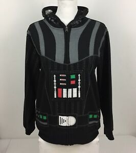 Star Wars Boys Large Sweatshirt Hoodie Darth Vader Rare Women's Small