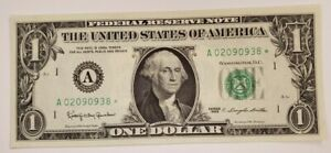 1963* ..UNCIRC  $1  A 02090938* .... 1963  $1  A-*     STAR NOTE  BOSTON