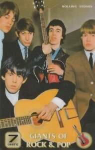 Telefoonkaart / Phonecard ongebruikt prepaid - Rolling Stones (R14)