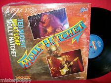 TED NUGENT + MEAT LOAF + MOLLY HATCHET PROMO only LP ITALY Unique Art Cover