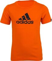 Adidas Jungen Tshirt Shred Logo AI5884 Orange Gr.116