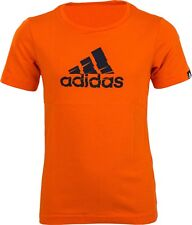Adidas Boys T-Shirt SHRED Logo ai5884 Orange Size 116