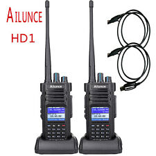 2pcsAilunce HD1 Dual Band DMR Digital DCDM TDMA Radio bidirezionale impermeabile