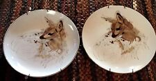 WOODLAND HAVEN - Deer FAWN Plate - 1976 Enesco -  Fine China Collector Plate