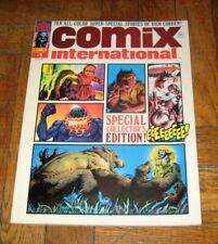 COMIX INTERNATIONAL # 1  JUL. 1974  WARREN