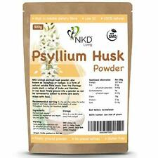 Psyllium Lolla Powder da NKD LIVING (500g) | sottoposto al test di metalli pesanti,