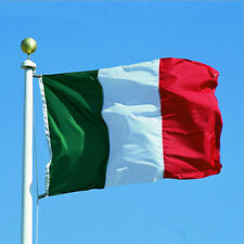 New Big Italy Flag 3x5Ft Tricolor flag Italian House Banner Indoor Outdoor