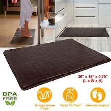"Memory Foam Anti Fatigue Kitchen Floor Mat Rug Anti-Slip Waterproof 30"" x 18"""