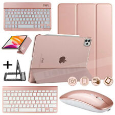 For iPad Pro 11 2020/7th 10.2/Air 10.5/6th Gen Keyboard+Leather Case+Stand+Mouse