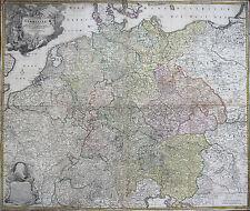 Originaldrucke (bis 1800) aus Österreich mit Landkarte