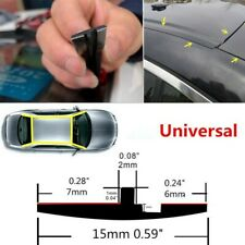 New Car Rubber Seal Trim Molding Strip Roof Door Edge Lock Protector All Weather