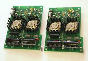 Satz Endverstärker  Endstufe  power amplifier  für  REVOX A77   Einbau