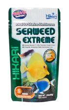 Hikari Seaweed Extreme 1.58 oz | Sinking Small Pellet | Food for Herbivore Fish