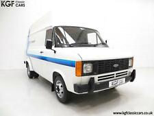 Quite Possibly The Best Mk2 Ford Transit Van 190 with Just 3,715 Miles
